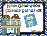 """Next Generation Science Standards """"I Can"""" Statements 3rd / Third Grade"""