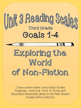 3rd Grade Non-Fiction Reading Scales