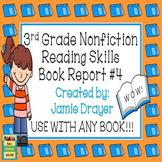 3rd Grade Nonfiction Book Report Trifold Brochure