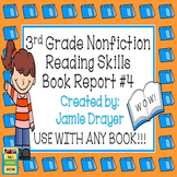 3rd Grade Nonfiction Book Report Trifold Brochure