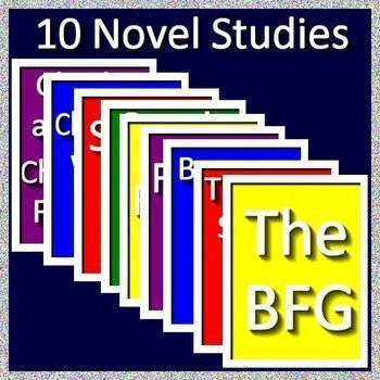 3rd Grade Novel Study Bundle - Full Year of Activities and Assessments