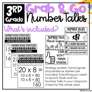3rd Grade Number Talks A YEARLONG MATH FLUENCY PROGRAM