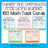 3rd Grade Number and Operations - Fractions Bundle Task Cards