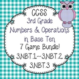 3rd Grade Numbers in Base Ten Activity Pack-3.NBT.1--3.NBT.2--3.NBT.3