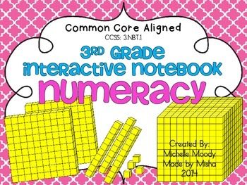 3rd Grade Numeracy Notebook