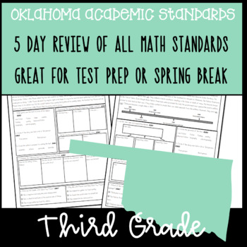 3rd Grade OAS Aligned Math Review