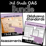 3rd Grade OAS Aligned Reading & Math Assessments *BUNDLE*