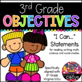 3rd Grade Objectives (Aligned to Virginia SOLs)