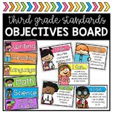 3rd Grade Objectives Board