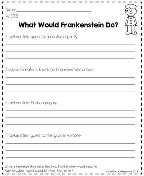 3rd Grade October / Halloween No Prep Math and Literacy Common Core Packet