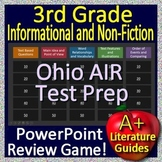 3rd Grade Ohio State Test Prep Informational Text Review Game for OST ELA
