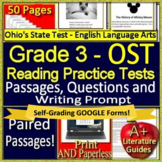 3rd Grade Ohio's State Test English Language Arts Practice OST 2019 Prep