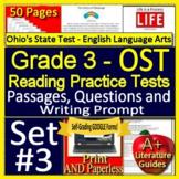 3rd Grade Ohio's State Test - English Language Arts Practice OST 2019 Test Prep