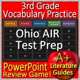 3rd Grade Ohio AIR Test Prep Reading Vocabulary Review Game