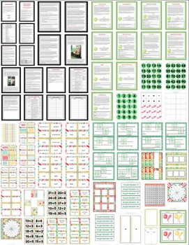 3rd Grade Operations & Algebraic Thinking: 11 Math Partner Games for Common Core