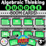 3rd Grade Operations and Algebraic Thinking | BOOM Cards | BUNDLE