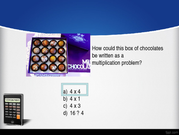 3rd Grade Review Game- Operations and Algebraic Thinking Common Core