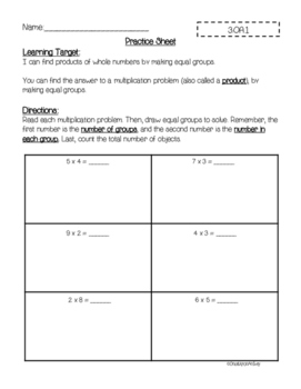 3rd Grade Operations and Algebraic Thinking Instructional Pack