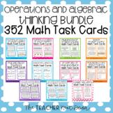 3rd Grade Operations and Algebraic Thinking Task Card Bund