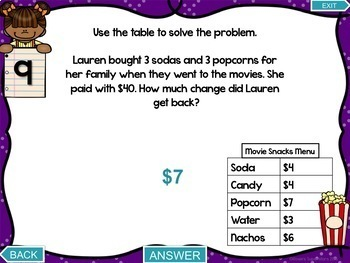 3rd Grade Operations and Algebraic Thinking Test Prep Digital Games