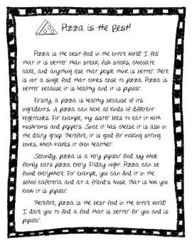 3rd grade essay samples