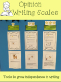 3rd Grade Opinion Writing Scale