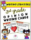 3rd Grade Opinion Writing Strategy Cards