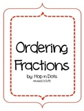 3rd Grade - Ordering Fractions Packet (Same Numerator/ Sam