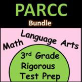 3rd Grade PARCC Practice: Math and Language Arts Bundle