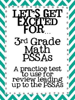 3rd Grade PSSA Mathematics Practice Test