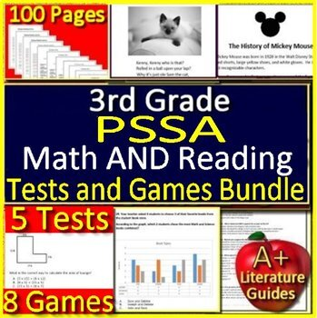 Pssa Math Prep Worksheets Teaching Resources TpT