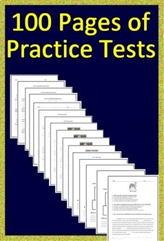 3rd Grade PSSA Test Prep Math and Reading Practice and Game Show Bundle