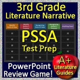 3rd Grade PSSA Test Prep Reading Literature and Narrative Skills Review Game