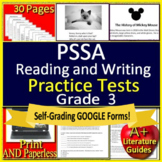 3rd Grade PSSA Test Prep Reading and Writing Practice for Language Arts