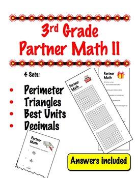 3rd Grade Partner Math II - Cooperative Learning