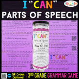 3rd Grade Parts of Speech Game