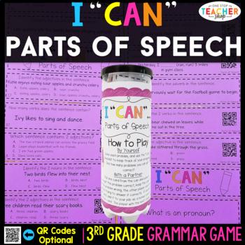3rd Grade Parts of Speech Game