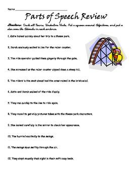 part of speech book pdf