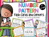 3rd Grade Patterns Math Centers and Task Cards