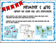 3rd Grade  Perimeter & Area Task Card Game by Marvel Math