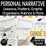 3rd Grade Personal Narrative Writing Unit {W.3.3.C, W.3.3.D}