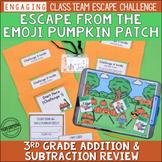 Halloween Escape Room | 3rd Grade Halloween Math Activity | Math Review