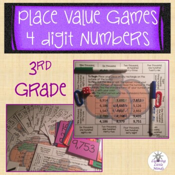 3rd Grade Place Value Games 4 Digit Numbers