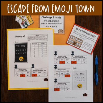 Place Value Game 3rd Grade | Multiplication, Addition, Subtraction, and Rounding