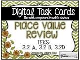 3rd Grade Place Value Review (Unit 1) Digital Boom Cards: TEKS: 3.2A, 3.2B, 3.2D
