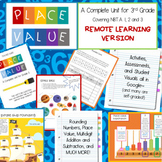 3rd Grade Place Value and Operations--REMOTE edition