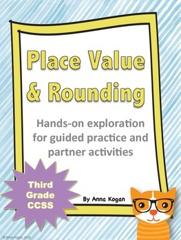 3rd Grade Place Value and Rounding Hands-On Activities