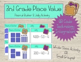 3rd Grade Place Value with QR Codes