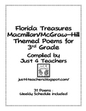 3rd Grade Poetry Journal-Correlates with Treasures (National/Florida)