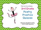 3rd Grade Poetry STAAR Practice